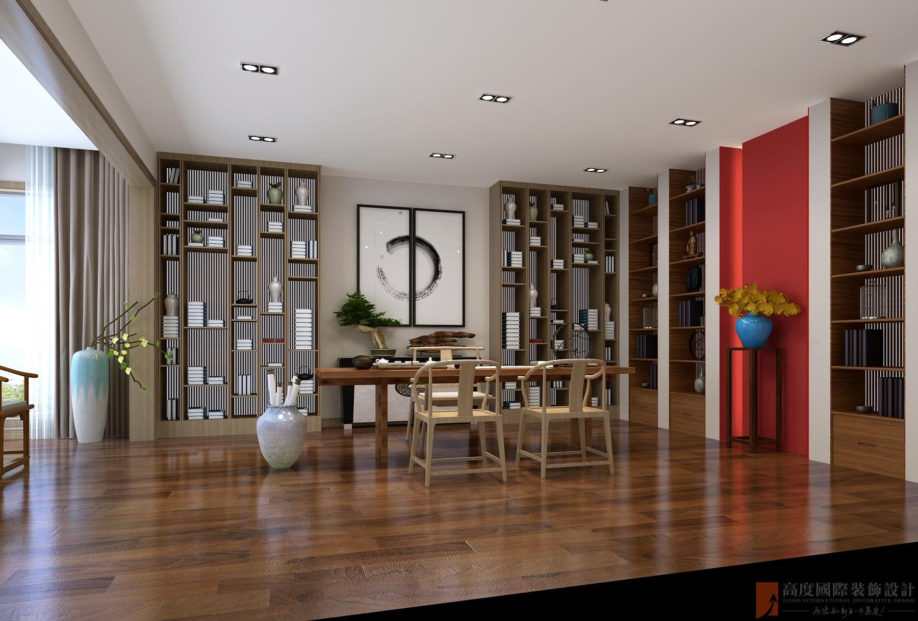 其他图片来自北京高度国际在承德自建别墅--800新中式风格的分享