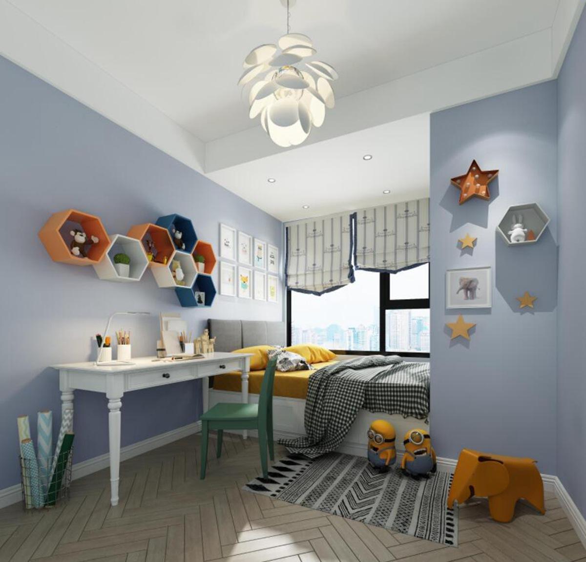 白领 小资 简约 客厅 卧室 厨房 收纳图片来自深圳佳美域品牌装饰在浓浓的少女心--福田花园简约风的分享