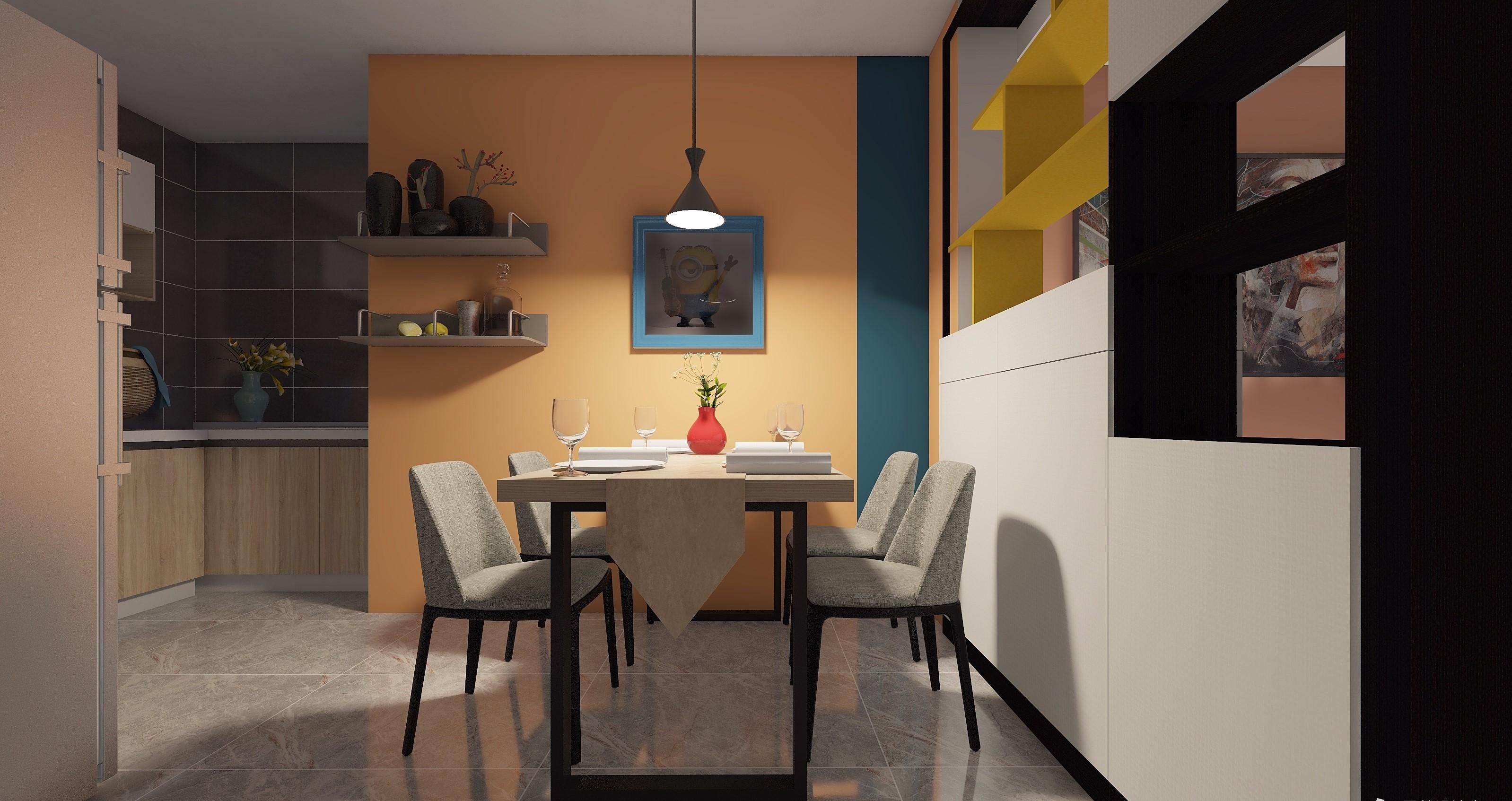 混搭 色彩图片来自居然设计家在混搭艺术的分享