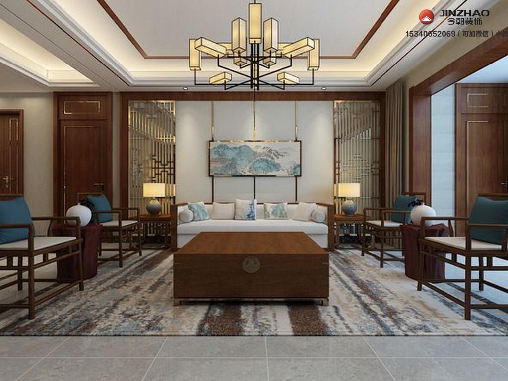 客厅图片来自装家美在悦湖城191平米效果图的分享