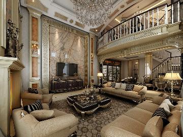 御翠园别墅装修欧式古典风格设计