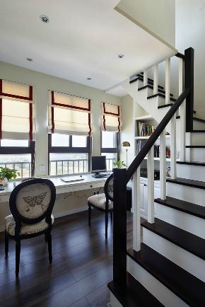 170平 混搭 楼梯图片来自西安紫苹果装饰工程有限公司在170平混搭的分享
