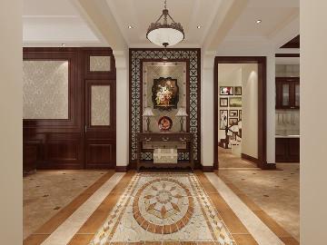 维诗凯亚400平别墅美式风格设计