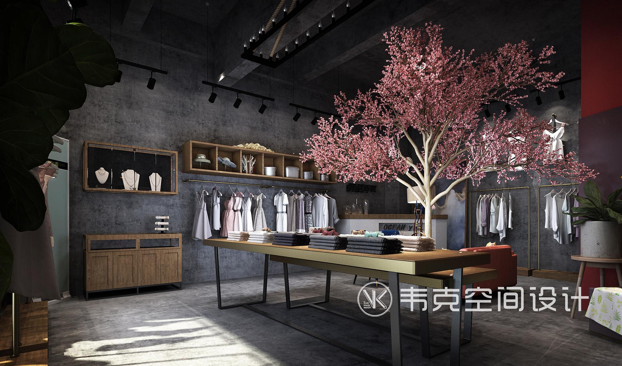 客厅图片来自韦克空间设计在这家隐匿于闹市的小店颜值很高!的分享