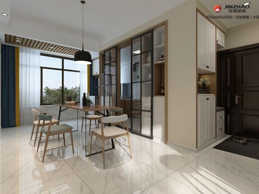 餐厅图片来自装家美在122平米现代简约装修设计效果图的分享