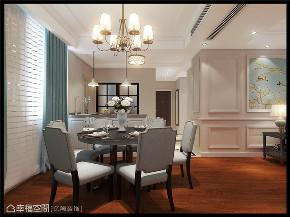 简美 亿陶装饰 幸福空间 美式 简约 旧房改造 80后 小资 收纳 餐厅图片来自幸福空间在重拾美好生活 百平大宅变身记的分享