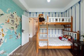 简美 亿陶装饰 幸福空间 美式 简约 旧房改造 80后 小资 收纳 儿童房图片来自幸福空间在重拾美好生活 百平大宅变身记的分享