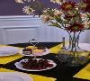 献上餐桌上的小景,精致的瓷器,美味的点心,幽香的花朵。它们是设计师捕捉到的小确幸,是业主生活中的点点滴滴,最简单的快乐!