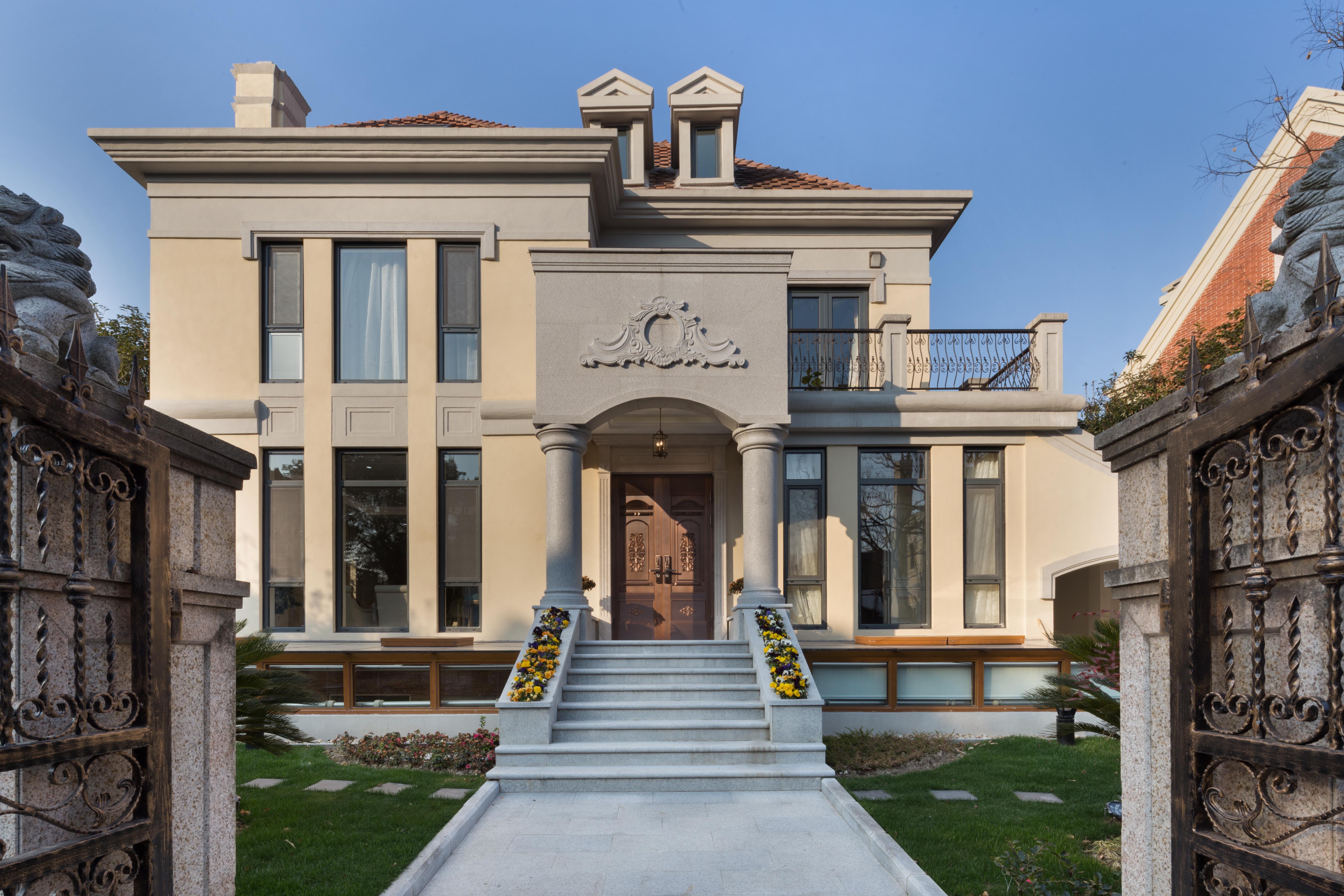 云间绿大地 别墅装修 北欧风格 别墅设计师 腾龙设计作 其他图片来自孔继民在云间绿大地别墅欧美风格设计的分享
