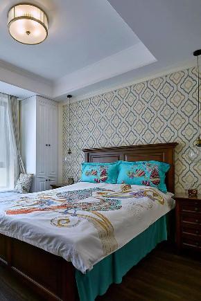 沙坪坝 白领 鹏友百年 私人订制 全案设计 美式 卧室图片来自鹏友百年装饰在100㎡简约美式风的分享