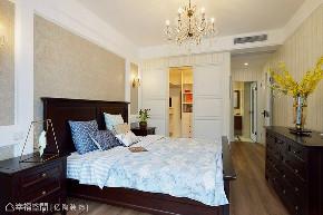 简美 亿陶装饰 幸福空间 美式 简约 旧房改造 80后 小资 收纳 卧室图片来自幸福空间在重拾美好生活 百平大宅变身记的分享