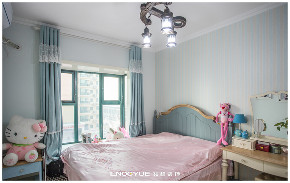 田园 三居 80后 小资 清新 卧室图片来自河北领越装饰在清婉&半夏的分享