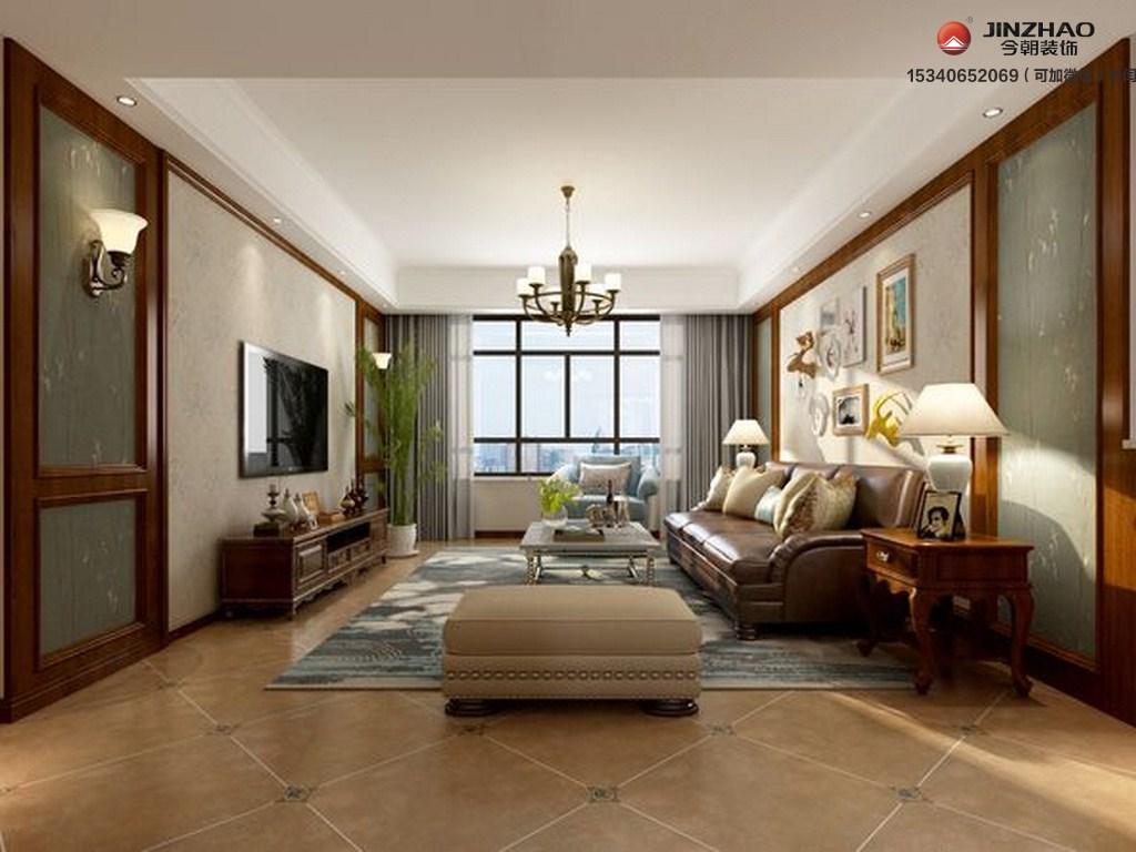 客厅图片来自装家美在140平米装修效果图的分享