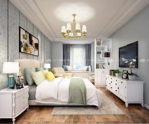 欧式 白领 小资 梦想改造家 清新 文艺 舒适 简约 卧室图片来自二十四城装饰(集团)昆明公司在银海泊岸 简欧的分享