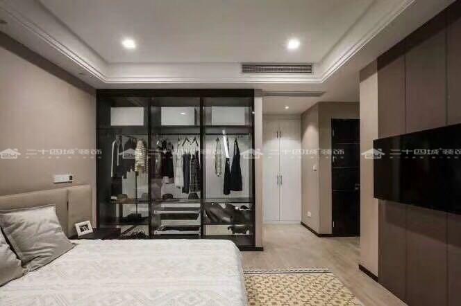 后现代 后现代风 三居 白领 80后 时尚 潮流 独特 奇妙 卧室图片来自二十四城装饰(集团)昆明公司在园城 后现代风的分享