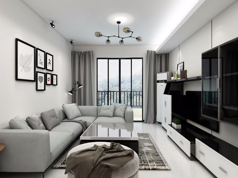 简约 三居 餐厅 厨房 卧室 旧房改造图片来自创艺装饰在南宁现代简约装修效果图的分享