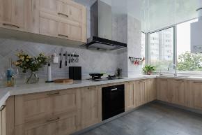 简约 欧式 田园 二居 三居 别墅 白领 旧房改造 北欧装修设 厨房图片来自邯郸实创在邯郸装修公司135㎡设计效果图的分享
