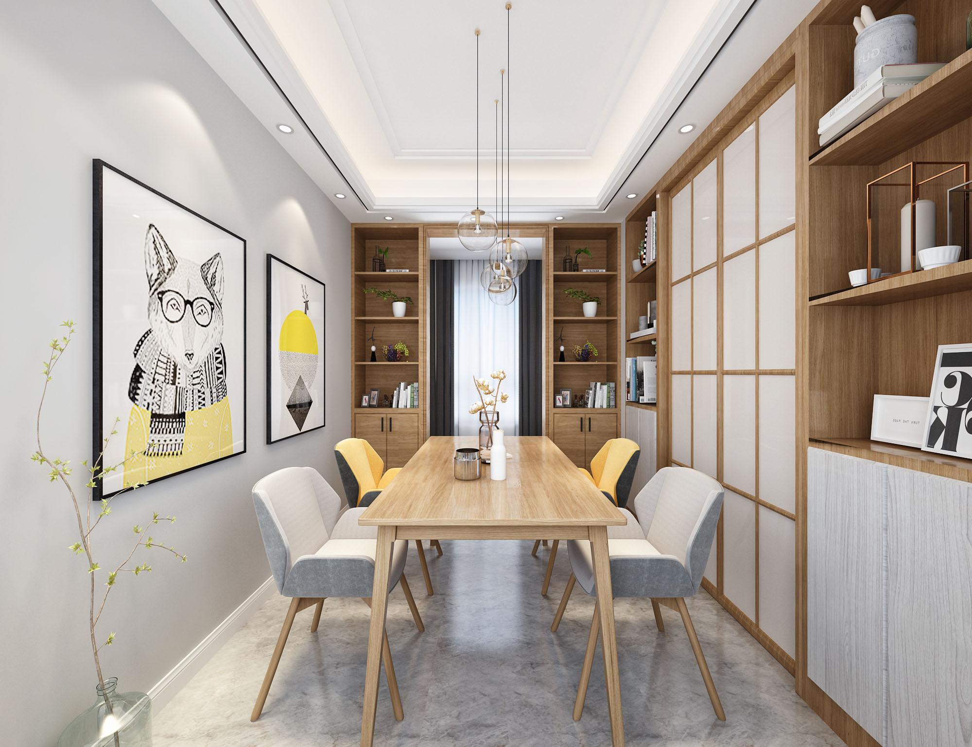 二居 餐厅图片来自云南俊雅装饰工程有限公司在餐厅装修设计的分享