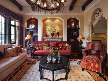 美式风格别墅设计案例展示