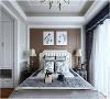 次卧| 次卧相对主卧来说,虽然没有那么大,但是整体的风格也是低调却奢华。不管是床头柜还是床头灯,与主卧都是遥相呼应,只不过样式和颜色又有各自的差别。