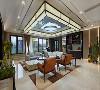 湖畔佳苑500平独栋别墅新中式风格完工实景展示,上海腾龙别墅设计师孔继民作品,欢迎品鉴