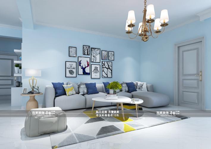 客厅图片来自沈阳百家装饰小姜在百家装饰克莱斯特花园欧风格的分享
