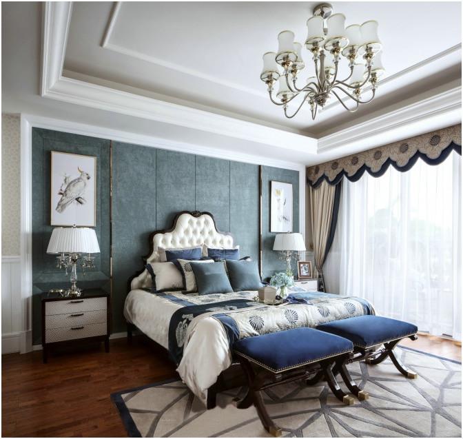 简约 法式 大平层 财信 鹏友百年 私人订制 全案设计 混搭 卧室图片来自鹏友百年装饰在纯白遇上法式新贵的分享