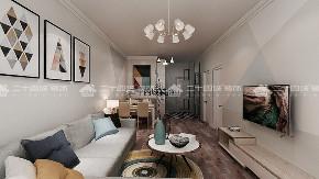 欧式 北欧 二居 白领 小资 定制家具 未来家 昆明装修 装修公司 客厅图片来自二十四城装饰(集团)昆明公司在金泰国际  北欧的分享
