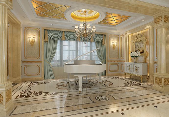一品漫城 别墅装修 欧式古典 别墅设计师 玄关图片来自孔继民在欧式古典风格别墅设计案例的分享
