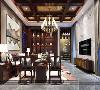 青浦品臻临湖别墅项目装修新中式风格设计案例展示,上海腾龙别墅设计作品,欢迎品鉴