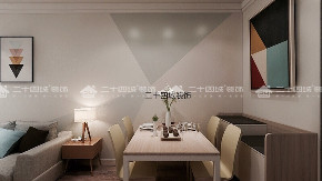 欧式 北欧 二居 白领 小资 定制家具 未来家 昆明装修 装修公司 餐厅图片来自二十四城装饰(集团)昆明公司在金泰国际  北欧的分享