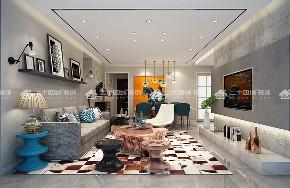 现代轻奢 奢侈 混搭 白领 80后 小资 高富帅 白富美 未来家 客厅图片来自二十四城装饰(集团)昆明公司在俊发观云海的分享