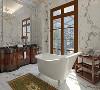 300平别墅项目装修美式风格设计