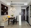 装修咨询热线:13643453293  设计理念:使用黑白灰营造强烈效果,也总有稳定空间的元素打破它的视觉膨胀感,比如用中性色软装和家具来压制,加上一些跳跃性的色彩搭配,以及装饰画的衬托,整体恰到好处。