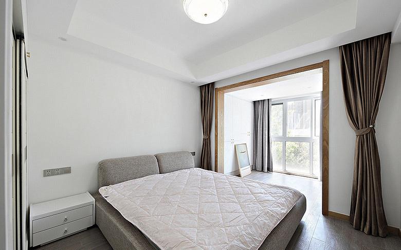 卧室图片来自家装大管家在淡然儒雅 110平新中式雅致3居室的分享