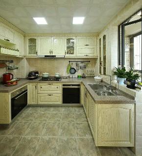 欧式 装修设计 大业美家 厨房图片来自大业美家 家居装饰在中冶德贤138㎡欧式装修设计案例的分享