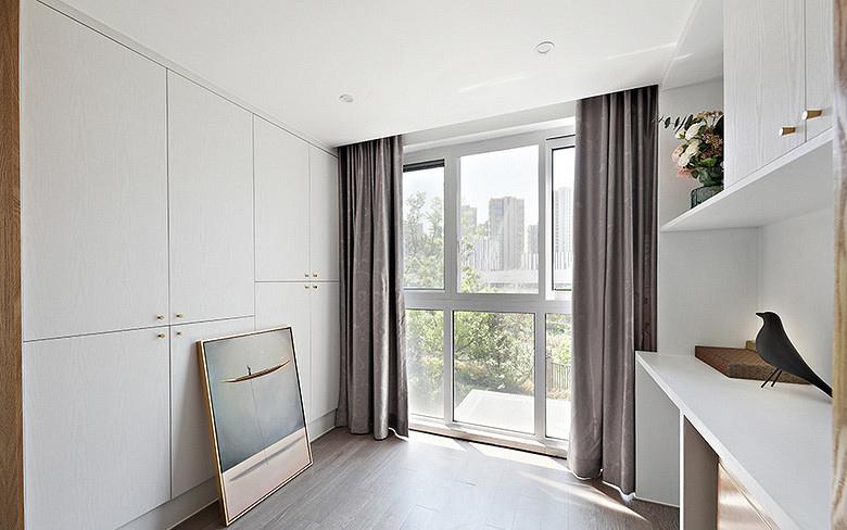 书房图片来自家装大管家在淡然儒雅 110平新中式雅致3居室的分享