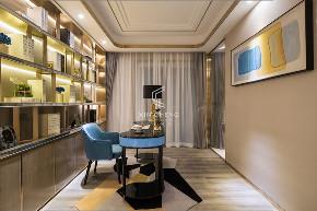 欧式 轻奢 书房图片来自乐山新成装饰在5分钟的半径值生活的分享