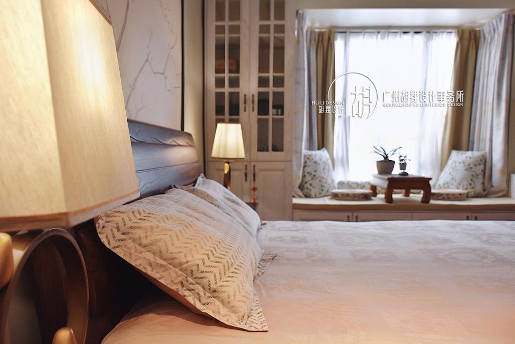 新中式 卧室图片来自设计师胡狸在执子之手,与子偕老的分享