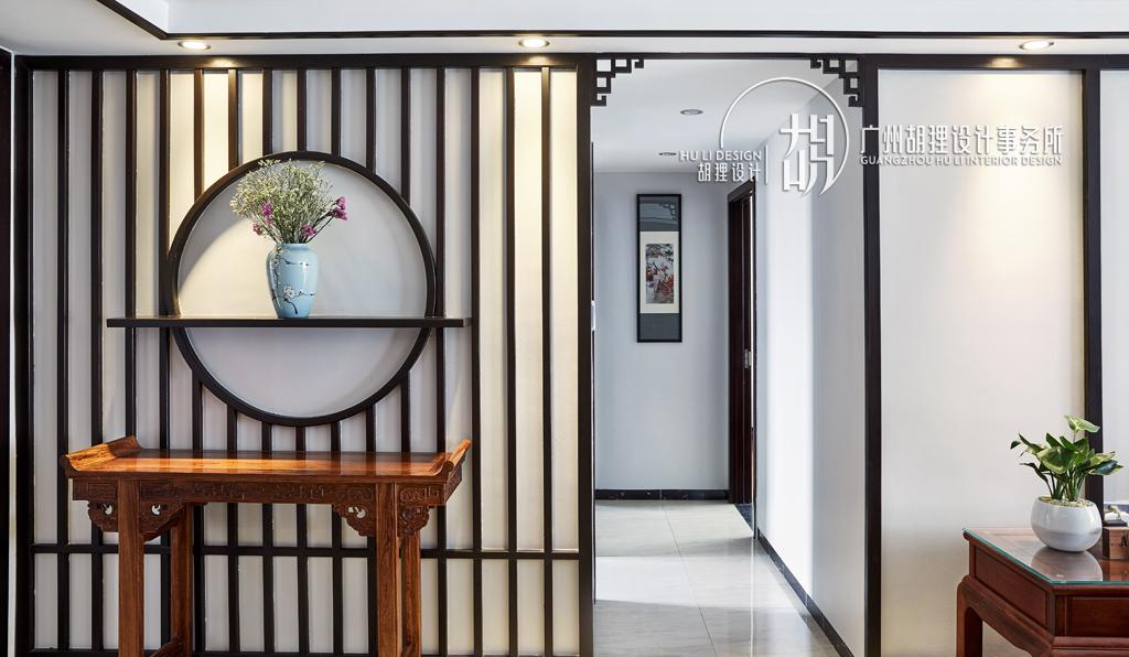 新中式 玄关图片来自设计师胡狸在执子之手,与子偕老的分享