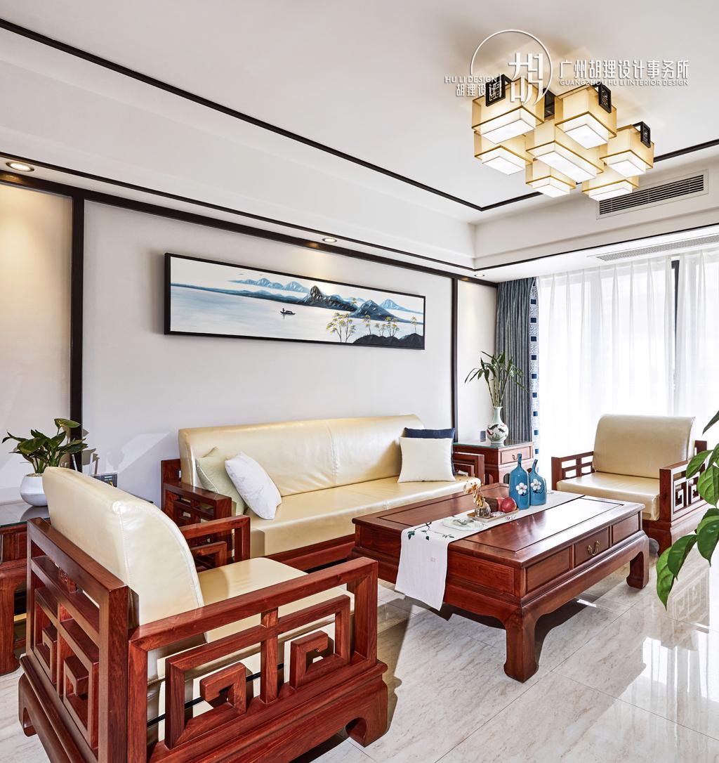 新中式 客厅图片来自设计师胡狸在执子之手,与子偕老的分享