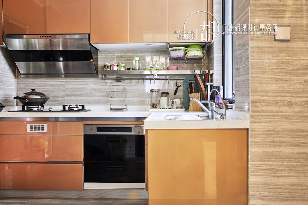 新中式 厨房图片来自设计师胡狸在执子之手,与子偕老的分享