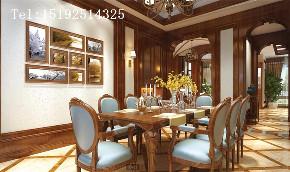 别墅 美式 浪漫 小资 餐厅图片来自快乐彩在保利海山罗兰--美式·浪漫的分享