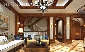 别墅 美式 浪漫 小资 客厅图片来自快乐彩在保利海山罗兰--美式·浪漫的分享