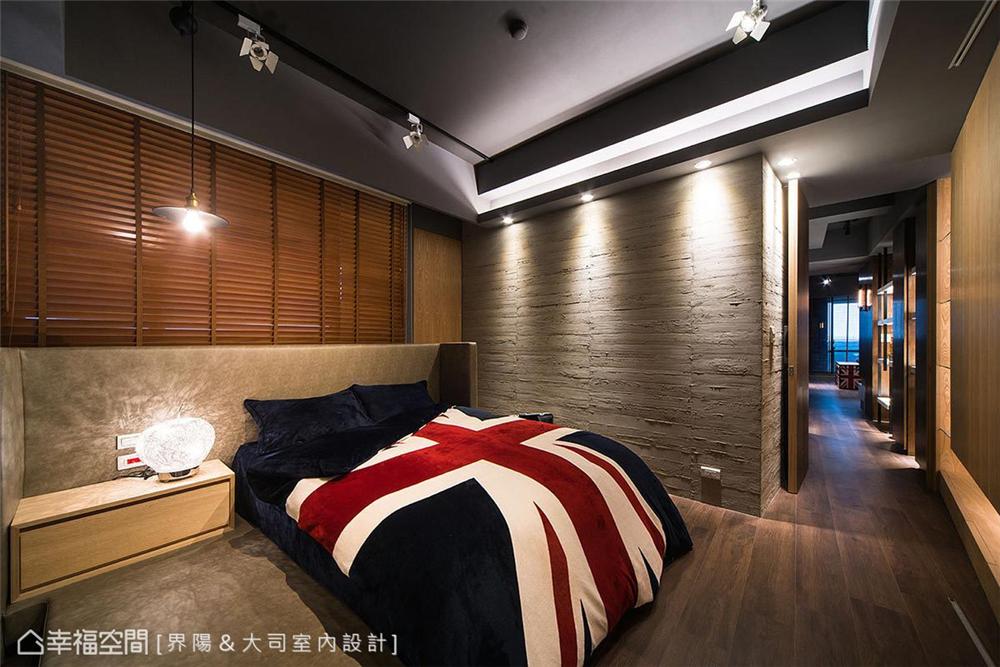 """小资 工业风格 装修设计 卧室图片来自幸福空间在99平,有一种人文叫""""大司""""的分享"""