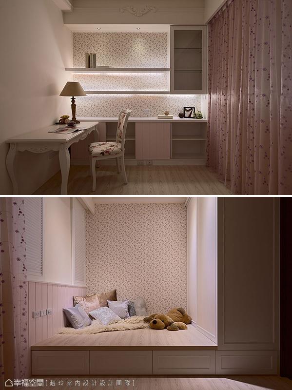 别墅 装修设计 新古典 混搭 儿童房图片来自幸福空间在281平,时尚美型 新古典混搭的分享