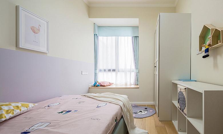 儿童房图片来自家装大管家在美观大方 89平现代简约混搭空间的分享