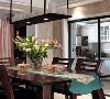 中冶德贤装修 ▏138㎡新中式3居设计,超爱落地窗书房! 紧凑的小空间合理布局,使得厨房更为实用