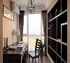 中冶德贤装修 ▏138㎡新中式3居设计,超爱落地窗书房!有时候相同的材质,相同元素在不同的场合,不同的配饰,别有另一番韵味。