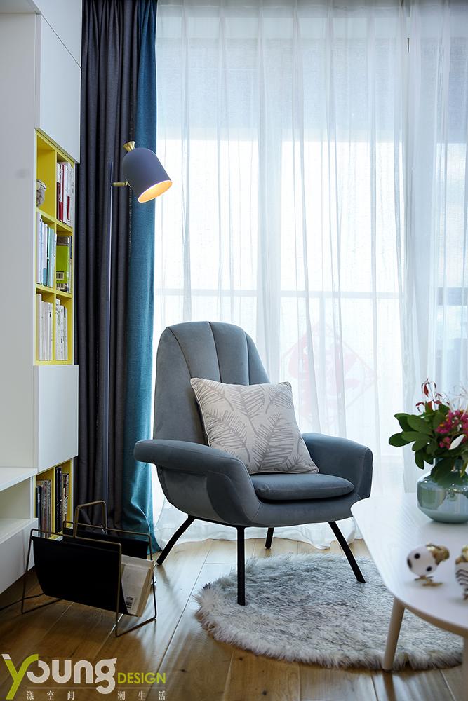 北欧 客厅图片来自漾设计在深圳漾设计《缘起》的分享